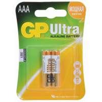 Batareyalar GP battery Ultra Alkaline AAA(2) 24AU-2UE2