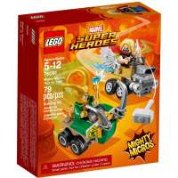 КОНСТРУКТОР LEGO Super Heroes Mighty Micros: Тор против Локи (76091)