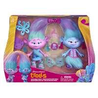 Набор персонажей мультфильма Hasbro Тролли Близнецы Сатин и Шенилл Trolls (B6563)