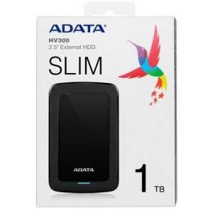 Внешний HDD ADATA 1TB USB 3.1 (AHV300-1TU31-CBK)
