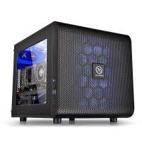 Компьютерный корпус Thermaltake Core V21/Black/Win/SECC (CA-1D5-00S1WN-00)
