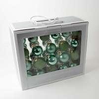 42 Новогодних шаров - Зеленые