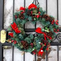kupit-Елка Royal Christmas DURHAM WREATH (0.75 metr)-v-baku-v-azerbaycane