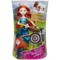 Игра HASBRO  Модная кукла принцесса и ее хобби, Принцессы Дисней, Мерида (B9146EU40)
