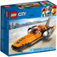КОНСТРУКТОР LEGO City Great Vehicles Гоночный автомобиль (60178)