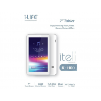 Planşet I-Life I-Tell K1100 7inch 800 x 480 (IT.1100DC.580BT)