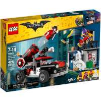 КОНСТРУКТОР LEGO Batman Movie Тяжёлая артиллерия Харли Квинн (70921)