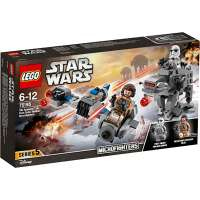 KONSTRUKTOR LEGO Star Wars: The Last Jedi Ski Speeder vs. First Order Walker Microfighters (75195)