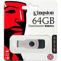 Флеш память USB Kingston 64 GB 3.0 DataTraveler SWIVL (DTSWIVL/64GB)