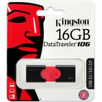 Флеш память USB Kingston 16 GB 3.0 DataTraveler 106 (DT106/16GB)