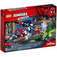 КОНСТРУКТОР LEGO Juniors Решающий бой Человека-паука против Скорпиона (10754)