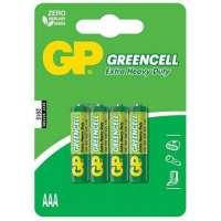 Batareyalar GP battery Greencell AAA(4) 24G-2UE4