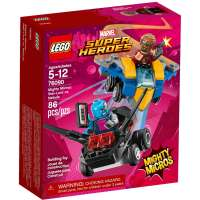 КОНСТРУКТОР LEGO Super Heroes Mighty Micros: Звёздный Лорд против Небулы (76090)
