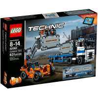 KONSTRUKTOR Lego Container Yard (42062)