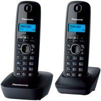 Домашний телефон Panasonic KX-TG1612UAH (Black)