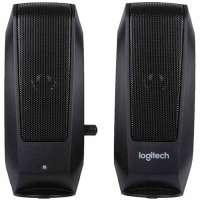 Компьютерные колонки LOGITECH Audio System 2.0 S120 / Black (980-000010)