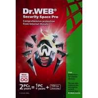 Antiviruslar Dr.Web Security Space renewal card (2PC/1 year) (BSW-W12-0002-2)