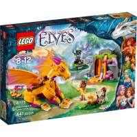 kupit-КОНСТРУКТОР LEGO Elves (41175) Пещера с лавой дракона Огня-v-baku-v-azerbaycane