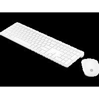 Simsiz klaviatur və siçan HP Pavilion 800 / White (4CF00AA)