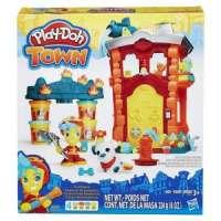 kupit-ИГРА HASBRO Play-Doh Town Пожарная станция (B3415EU40)-v-baku-v-azerbaycane