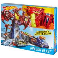 MATTEL Автотрек Hot Wheels Dragon Blast (DWL04)