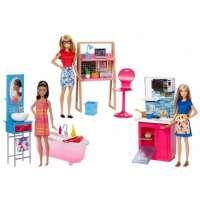 kupit-Игра MATTEL Barbie® Room & Doll Asst (3)(DVX51)-v-baku-v-azerbaycane