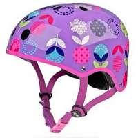 Dəbilqə Micro helmet floral dot purple M (AC4505)
