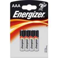 Batareyalar Energizer battery Alkaline AAA(4) LR03