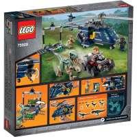 КОНСТРУКТОР LEGO Jurassic World Погоня за Блю на вертолёте (75928)