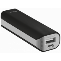 Portativ şarj cihazı (Power Bank) Trust Primo Powerbank 2200 Portable Charger, Black (21221)