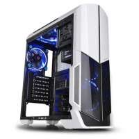 Компьютерный корпус Thermaltake Versa N21 Snow/White/Win/SGCC (CA-1D9-00M6WN-00)