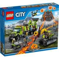 КОНСТРУКТОР LEGO City (60124) База исследователей вулканов