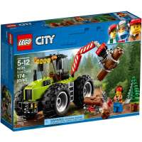 КОНСТРУКТОР LEGO City Great Vehicles Лесной трактор (60181)