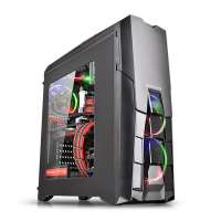 Компьютерный корпус Thermaltake Versa N25/Black/Win/SGCC (CA-1G2-00M1WN-00)