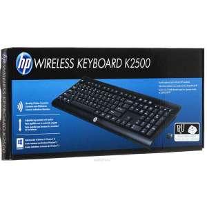 Беспроводная клавиатура HP K2500 Wireless Keyboard (E5E78AA)