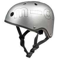 Dəbilqə Micro helmet metallic silver M (AC4509)