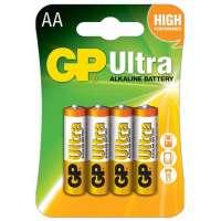 Batareyalar GP battery Ultra Alkaline AA(4)15AU-2UE4