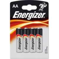 Batareyalar Energizer battery Alkaline AA(4) LR6