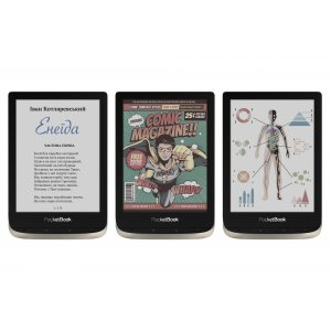 Электронная книга e-reader PocketBook 633 Color Moon (PB633-N-CIS)