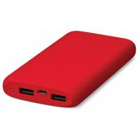 Портативное зарядное устройство (Power Bank) Ttec Powerslim 10000mah Red