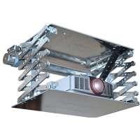Подвес для проекторов Alpha Electrical Projector Lift System, Scissors Type, 1.50m Drop White Color With Switch (APL-150T)