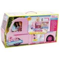 Игра MATTEL Фургон Barbie для путешествий (CJT42)