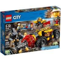 КОНСТРУКТОР LEGO City Mining Тяжелый бур для горных работ (60186)