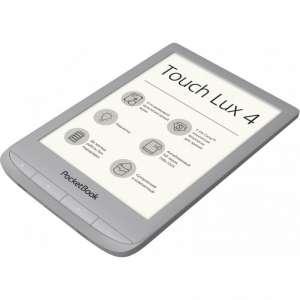 Электронная книга PocketBook PB627 Silver Touch Lux 4 (PB627-S-CIS)