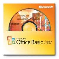Офисная программа Microsoft Office Basic 2007 English Intl 3pk DSP 3 OEI V2 w/OfcPro2007Trial MLK (1pk) (S55-02516)