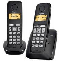 Домашний телефон GIGASET A120 DUO (Black)
