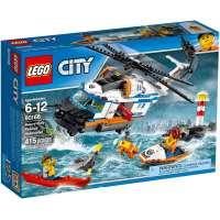 КОНСТРУКТОР LEGO City Coast Guard Сверхмощный спасательный вертолёт (60166)