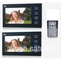 """Видео домофон с 2-я цветными LCD-мониторами 7"""" RL-2TV10MA"""