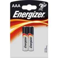 Batareyalar Energizer battery Alkaline AAA(2) LR03