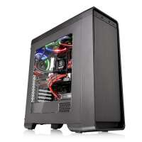 Компьютерный корпус Thermaltake Versa U21/Black/Win/SGCC (CA-1G5-00M1WN-00)